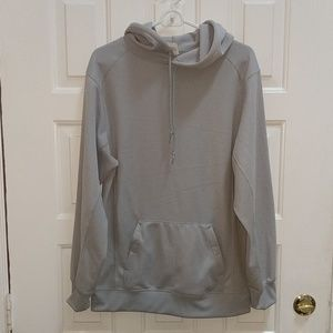 Badger Sport Grey hoodie with double pocket